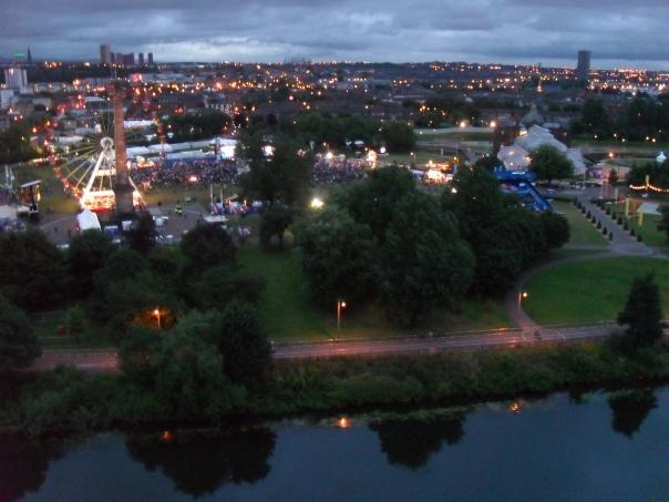 Glasgow Green Closing Ceremony